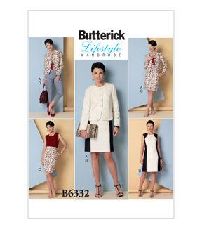 1960s – 70s Sewing Patterns- Dresses, Tops, Pants, Mens Butterick Misses Suits - B6332 $11.97 AT vintagedancer.com
