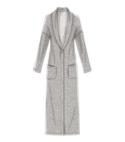 1920s Patterns – Vintage, Reproduction Sewing Patterns McCalls Pattern M7476 Misses Drop - Shoulder Vest  Cardigans - Size 16 - 26 $11.97 AT vintagedancer.com