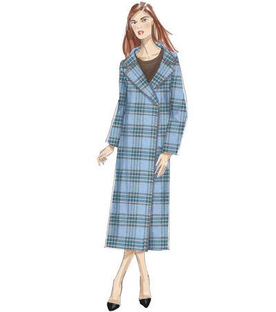 1930s Sewing Patterns- Dresses, Pants, Tops Vogue Pattern V9231 Misses Shawl or Notch Collar Coats - Size 4 - 14 $15.00 AT vintagedancer.com