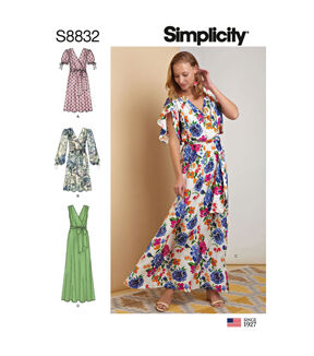 1960s – 70s Sewing Patterns- Dresses, Tops, Pants, Mens Simplicity Pattern S8832 Misses Pullover Dress - Size H5 6 - 8 - 10 - 12 - 14 $12.57 AT vintagedancer.com