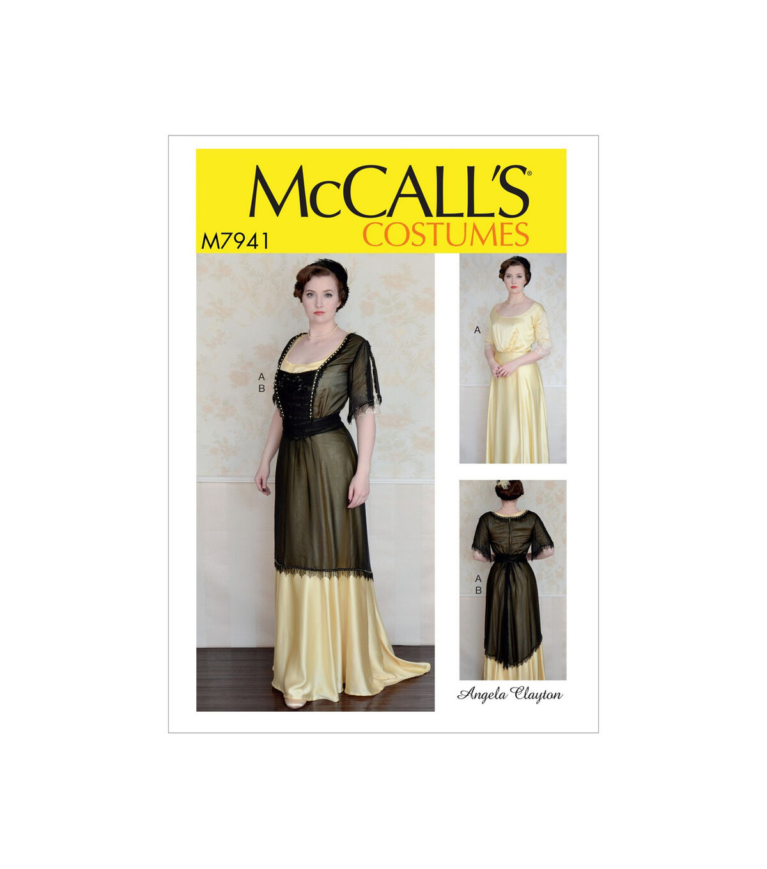 1920s Patterns – Vintage, Reproduction Sewing Patterns McCalls Pattern M7941 Misses Costume - Size 6 - 8 - 10 - 12 - 14 $13.77 AT vintagedancer.com