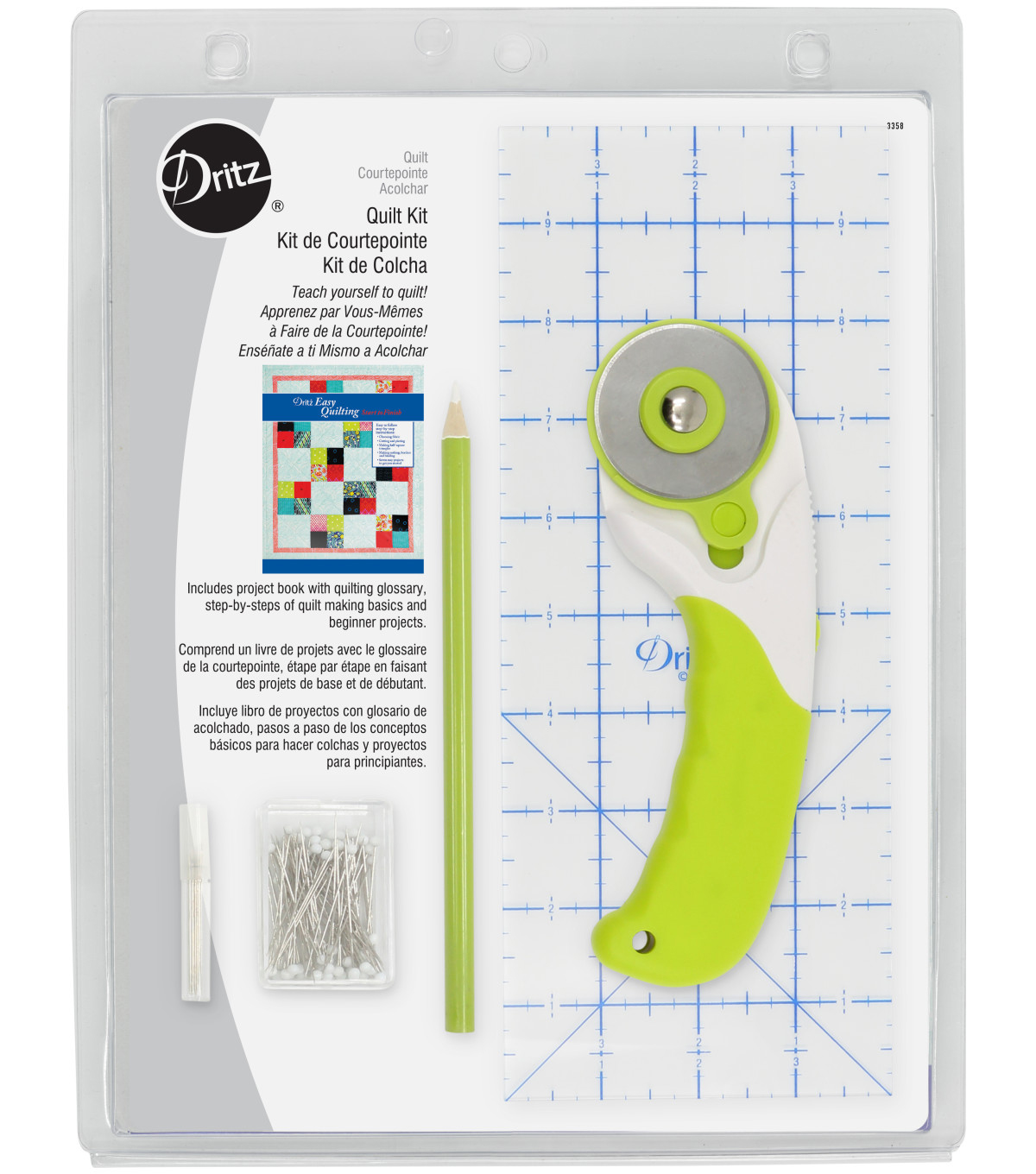 Dritz Easy Quilting Start To Finish Kit                      Dritz Easy Quilting Start To Finish Kit by Dritz