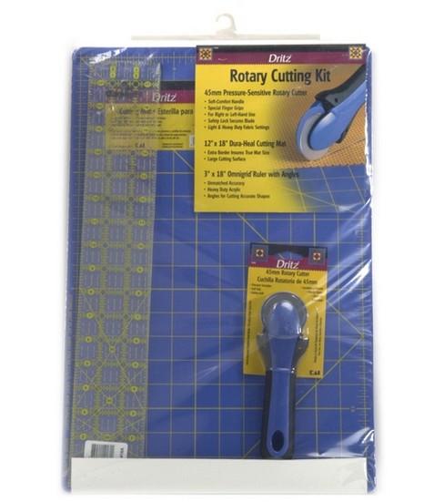 Dritz Rotary Cutting Kit Mat, Ruler&Cutter                      Dritz Rotary Cutting Kit Mat, Ruler&Cutter by Dritz