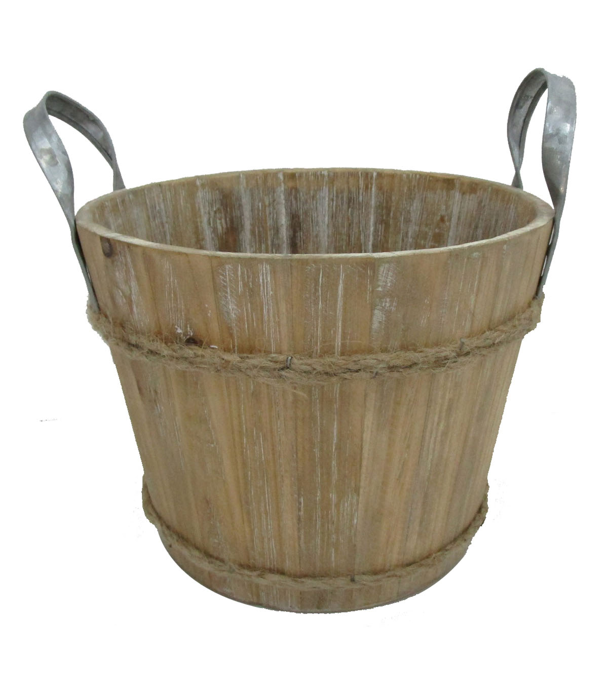 Blooming Autumn Large Wooden Bucket                      Blooming Autumn Large Wooden Bucket by Blooming Autumn