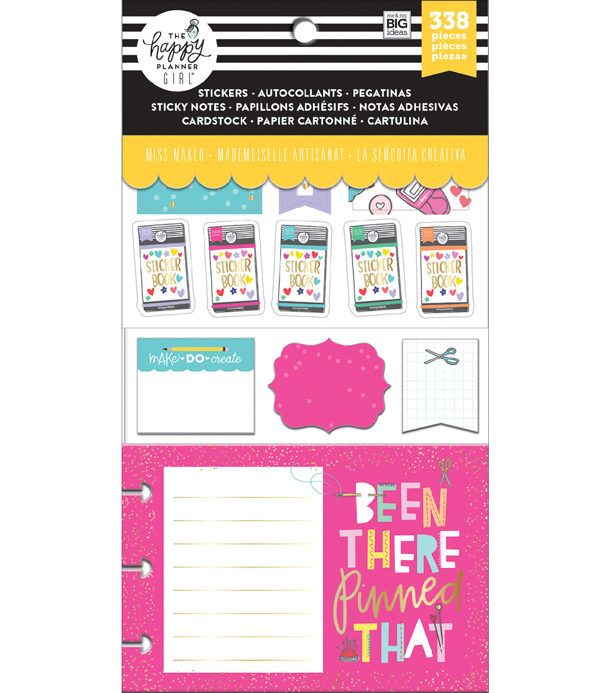 The Happy Planner Girl Multi Accessory Pack Miss Maker                      The Happy Planner Girl Multi Accessory Pack Miss Maker by The Happy Planner