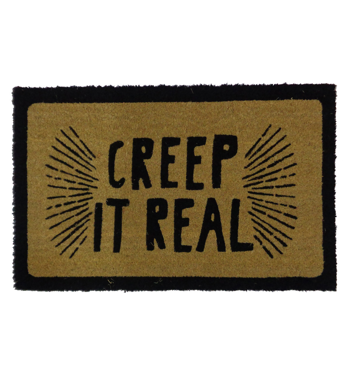 Maker's Halloween Coir Mat Creep It Real                      Maker's Halloween Coir Mat Creep It Real by Maker's Halloween