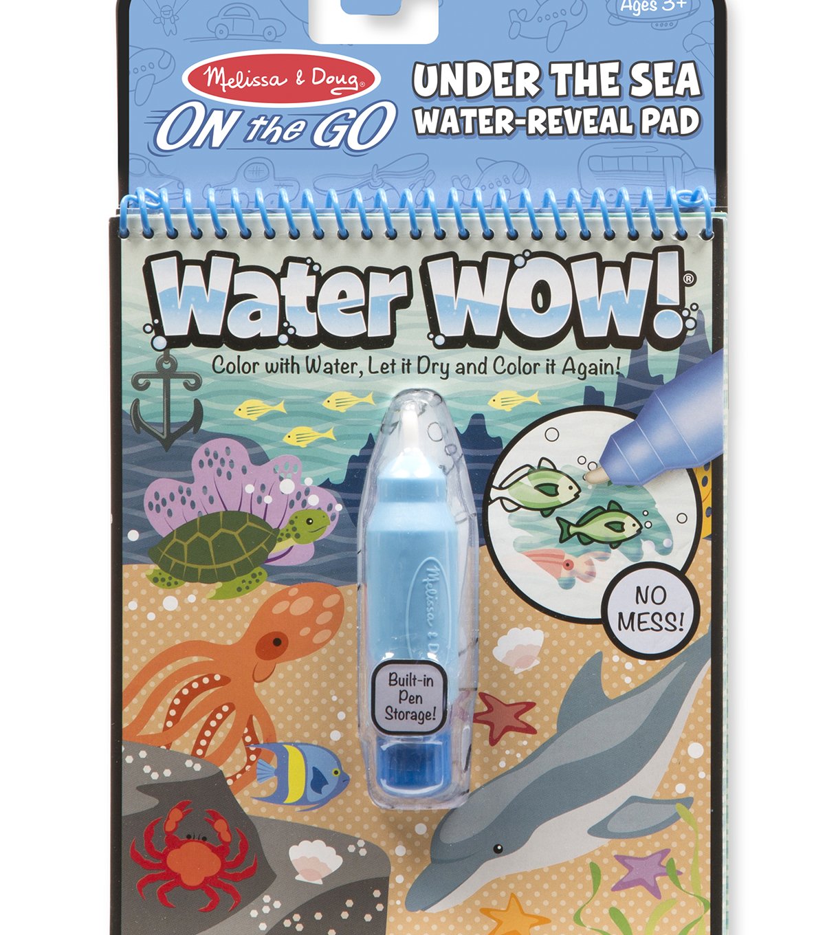 Melissa & Doug On The Go Water Wow! Water Reveal Pad Under The Sea                      Melissa & Doug On The Go Water Wow! Water Reveal Pad Under The Sea by Melissa & Doug