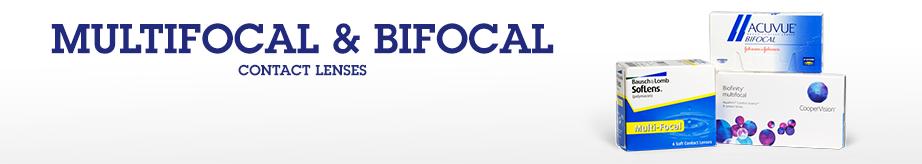 bifocal and multifocal contact lenses