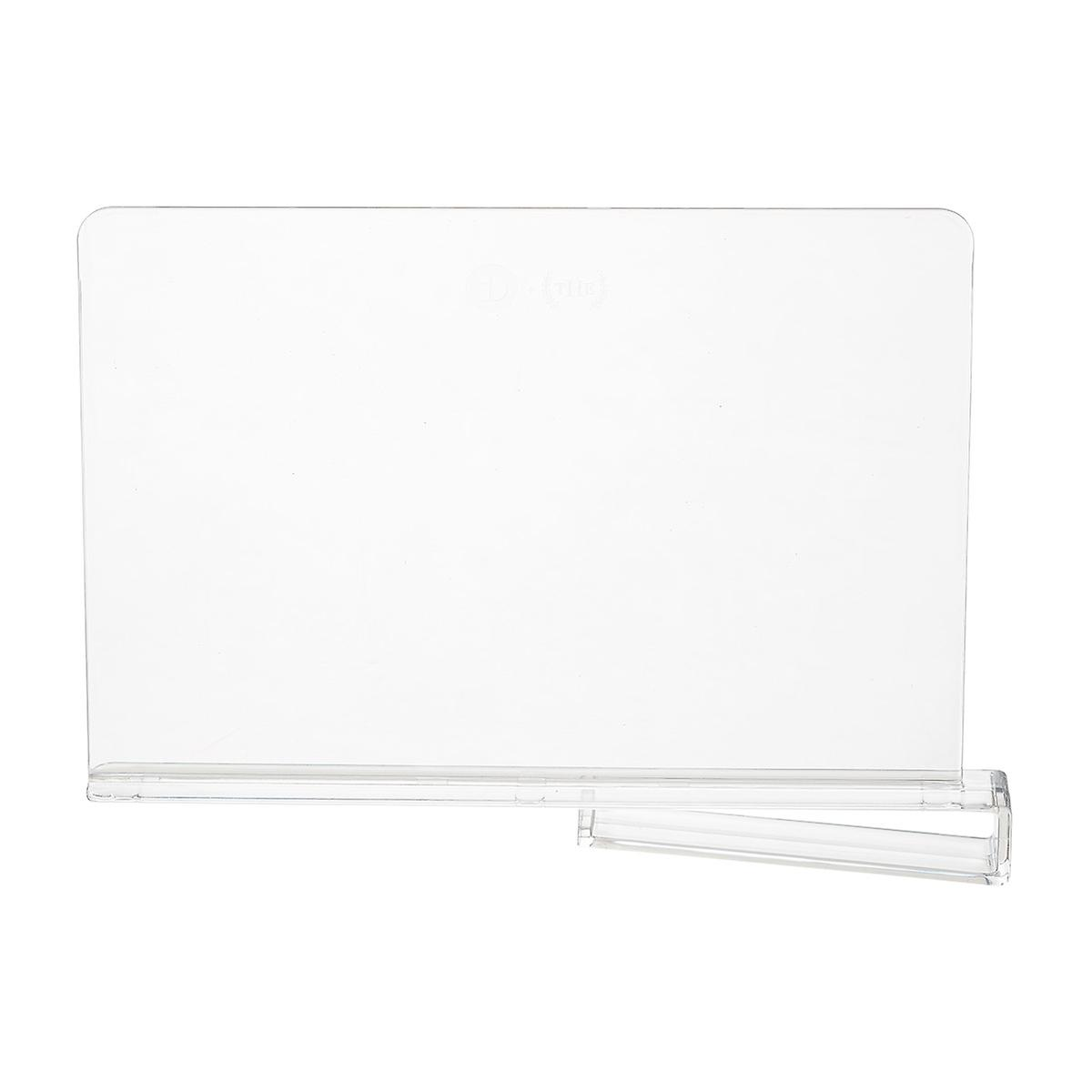 Clear Shelf Divider