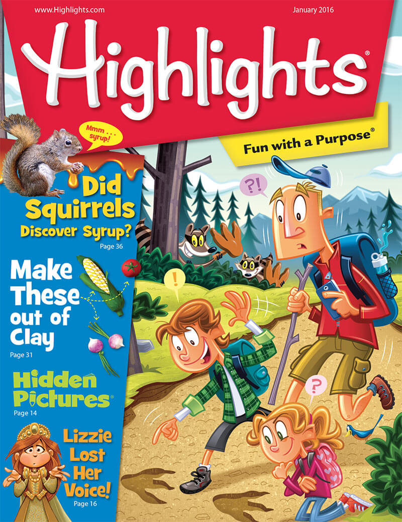 Highlights magazine: Cover