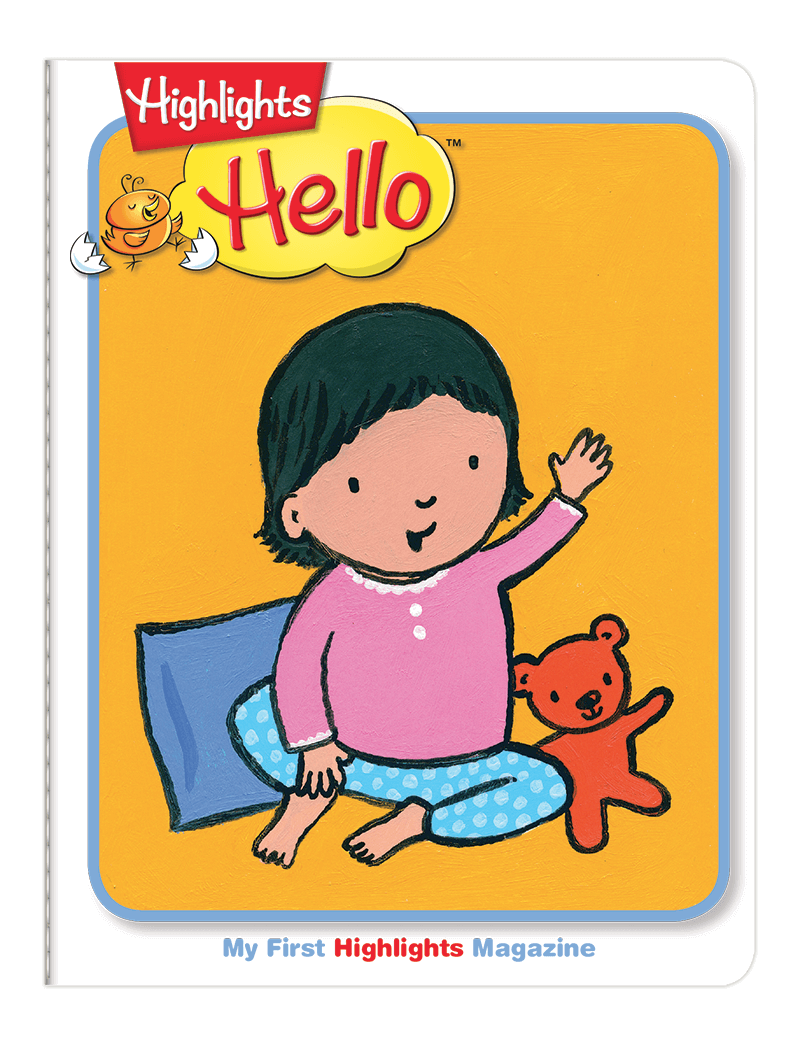 Cover of Highlights Hello Toddler & Baby Magazine