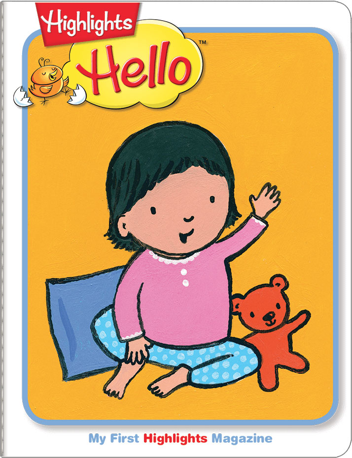 Highlights Hello™ magazine for babies and toddlers ages 0-2