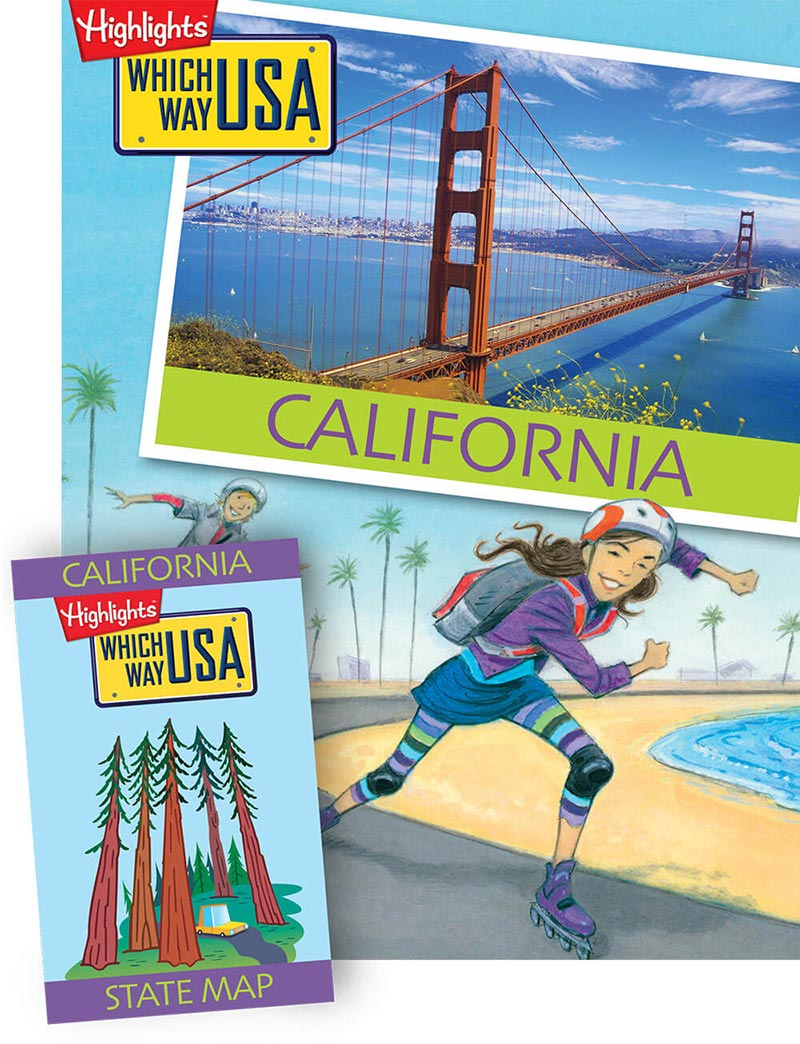Which Way USA maps, games, puzzles and more!