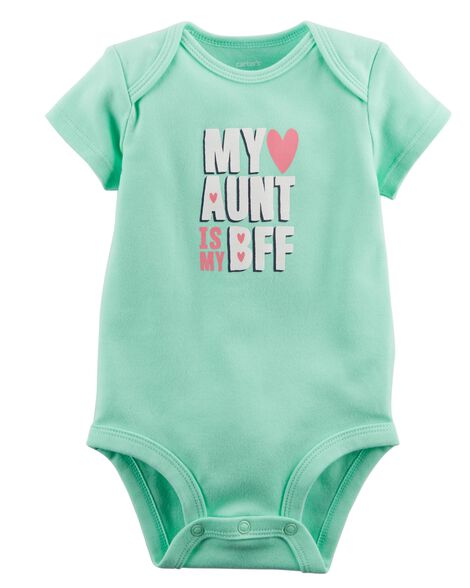 Bff Aunt Collectible Bodysuit by Carter's