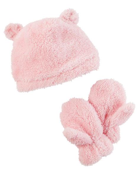 Fleece Hat & Mitten Set by Carter's