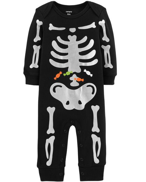 Halloween Skeleton Jumpsuit by Carter's
