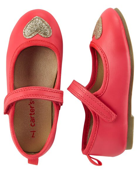 Off Fifth Carter's Baby's, Little Girl's & Girl's Heart Mary Jane Flats $11.99