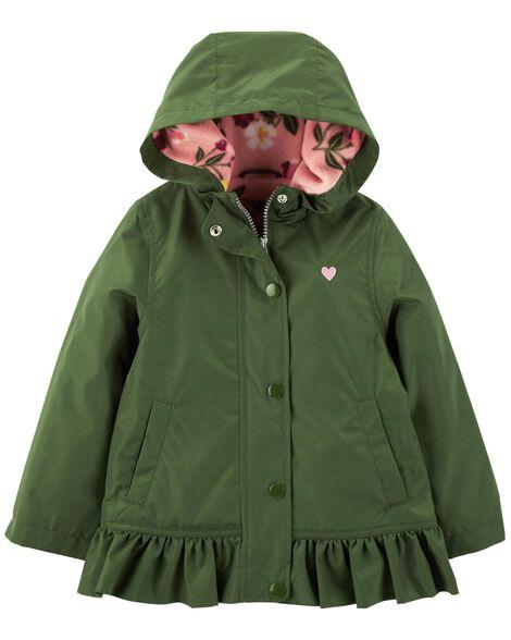 Heart Fleece Lined Jacket by Carter's