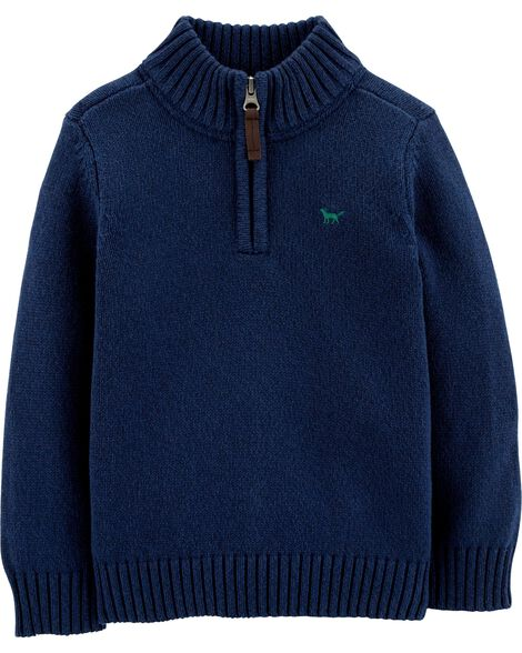 Half Zip Pullover Sweater by Carter's
