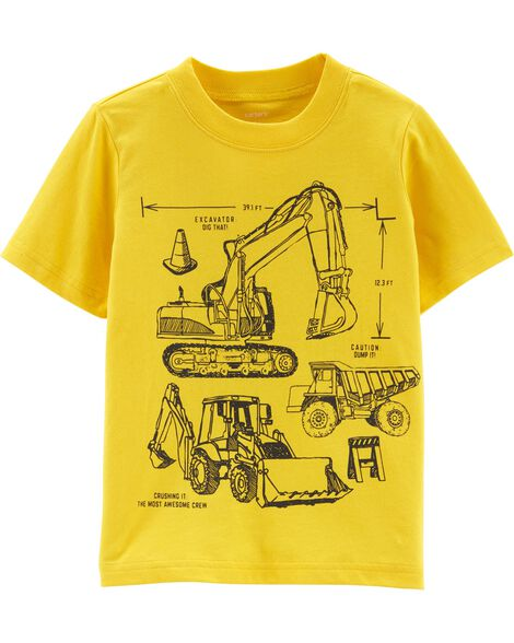 Construction Jersey Tee by Carter's