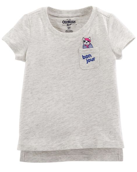 French Bulldog Pocket Tee by Carter's