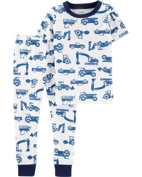 2 Piece Construction Snug Fit Cotton P Js by Carter's