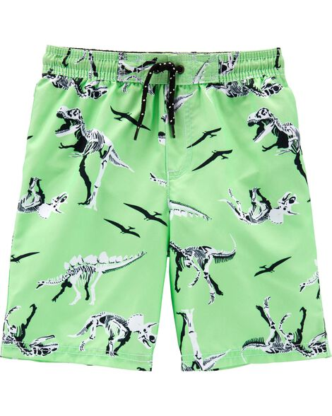 Carter's Dinosaur Swim Trunks by Oshkosh