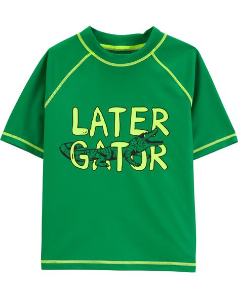 Carter's Later Gator Rashguard by Oshkosh