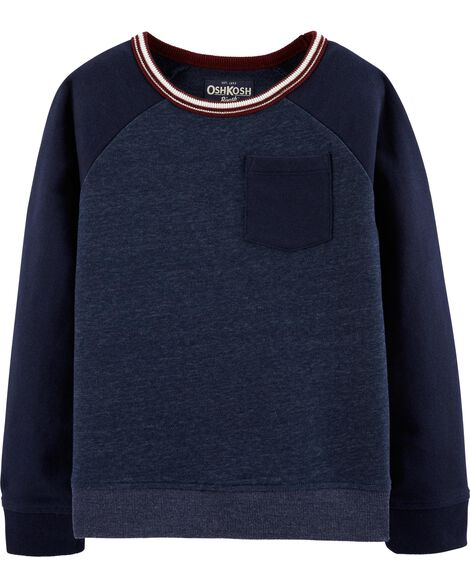 French Terry Pullover by Carter's