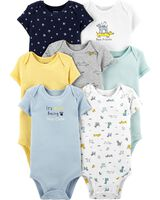 7-Pack Carter's Baby Original Bodysuits (various)