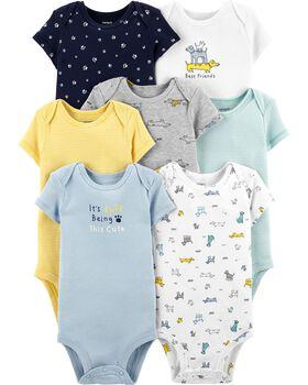 7-Pack Carter's Baby Original Bodysuits (various)