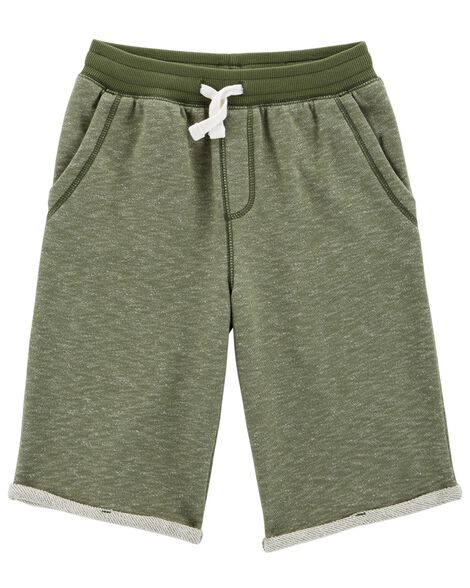Easy Pull-On Knit Shorts