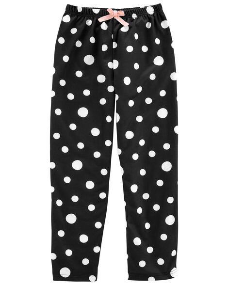 Polka Dot French Terry Sleep Pants