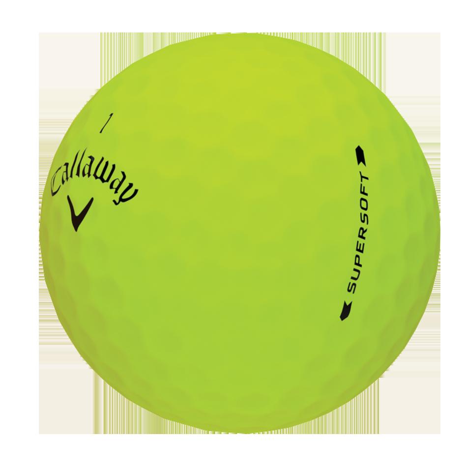 Introducing Supersoft Matte Green Golf Balls illustration