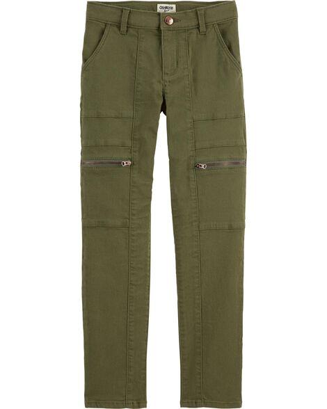 Stretchy Twill Pants by Oshkosh