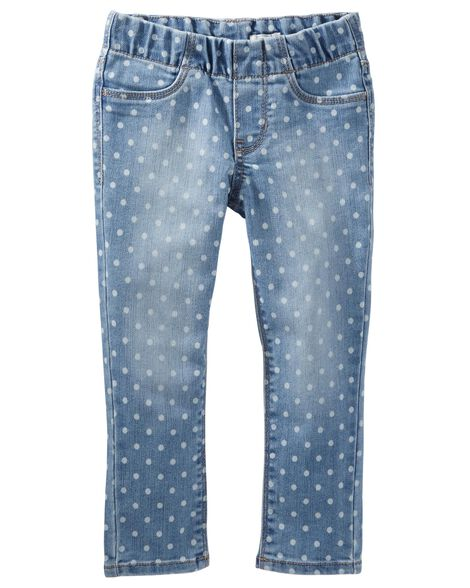 Polka Dot Jeggings by Oshkosh