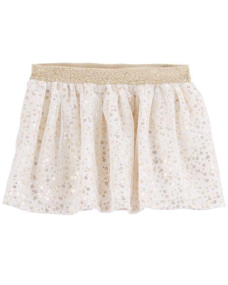 Gold Sequin Skirt by Oshkosh
