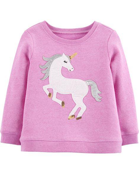 Sequin Unicorn Pullover by Oshkosh
