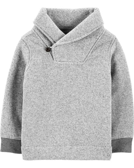 Shawl Collar Pullover by Oshkosh