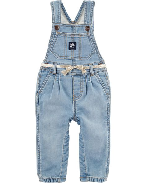 Knit Denim Overalls by Oshkosh