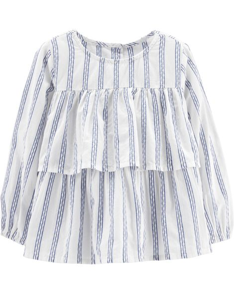 Striped Peasant Top by Oshkosh