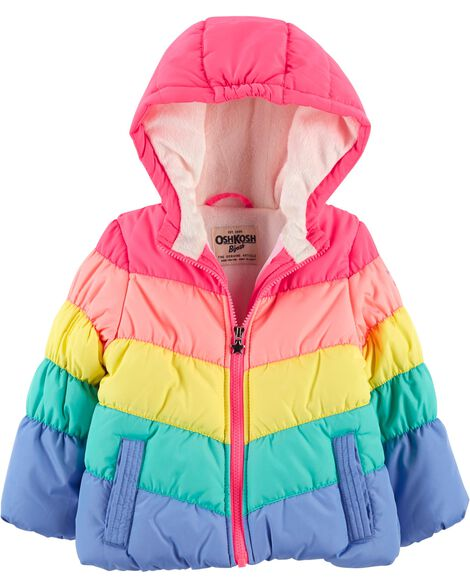 Rainbow Bubble Jacket by Oshkosh