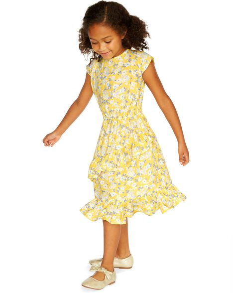 Ruffle Floral Dress by Oshkosh