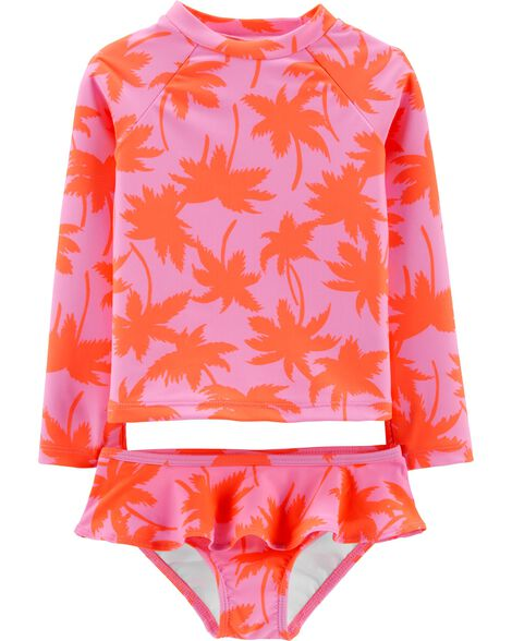 Osh Kosh Palm Tree Rashguard Set by Oshkosh