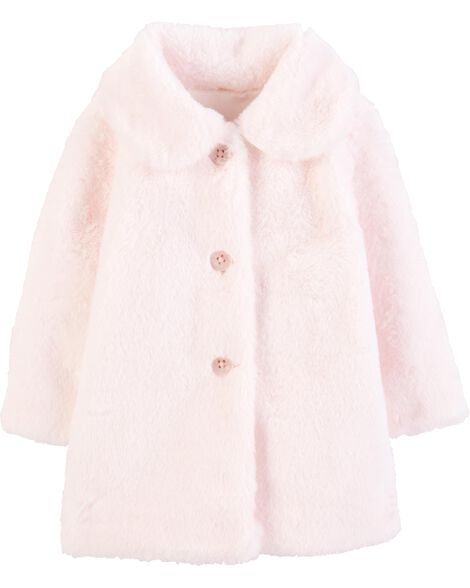 Faux Fur Peacoat by Oshkosh