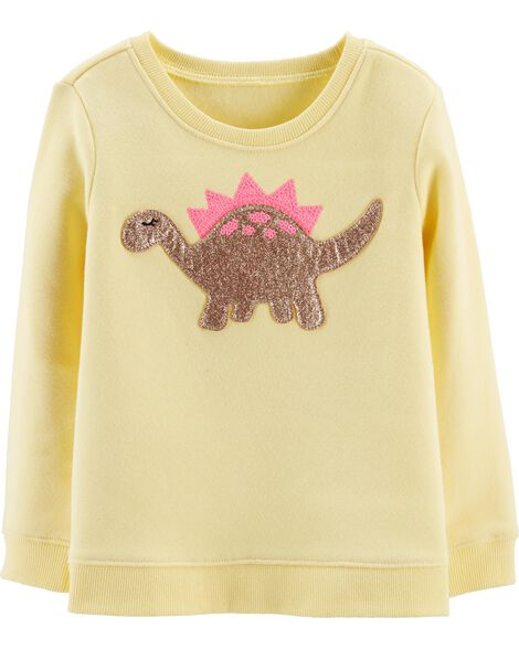 Sequin Dinosaur Pullover by Oshkosh