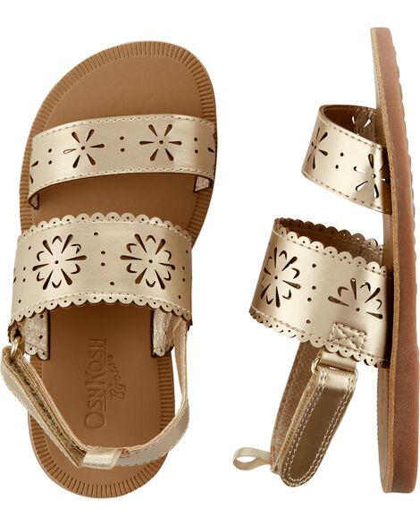 Osh Kosh Gold Sandals by Oshkosh