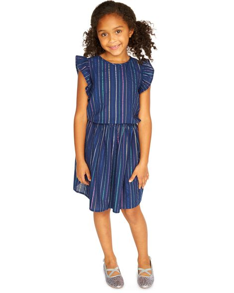 Rainbow Stripe Dress by Oshkosh