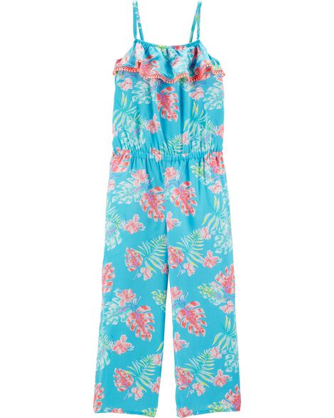 Tropical Floral Jumpsuit by Oshkosh