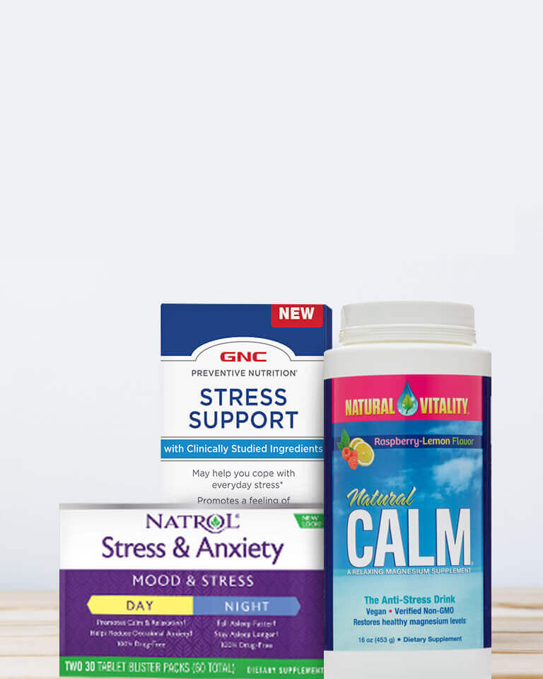 Supplements for stress support
